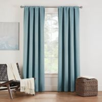 Eclipse Twilight Luna 63-Inch Rod Pocket Room Darkening Window Curtain Panel in Spa