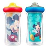 The First Years® 2-Pack Disney® Mickey Mouse 9 oz. Insulated Sippy Cups with Animation App