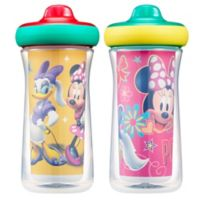 The First Years® 2-Pack Disney® Minnie Mouse 9 oz. Insulated Sippy Cups with Animation App