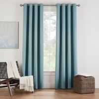 Eclipse Twilight Luna 108-Inch Grommet Room Darkening Window Curtain Panel in Spa