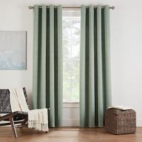 Eclipse Twilight Luna 108-Inch Grommet Room Darkening Window Curtain Panel in Basil