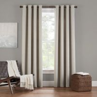 Eclipse Twilight Luna 54-Inch Grommet Room Darkening Window Curtain Panel in Ivory