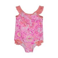 Tommy Bahama® Size 18M Paisley Floral One-Piece Swimsuit in Pink