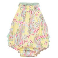 Baby Starters® Size 9M Paisley Sunsuit in Yellow