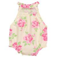 Baby Starters® Size 9M Floral Bubble Sunsuit