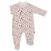 Magnetic Me™ Size Newborn Cirque Bebe Magnetic Modal Footie in Pink