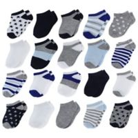Capelli New York Size 12-24M 20-Pack Assorted Socks