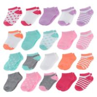 Capelli New York Size 12-24M 20-Pack Assorted Pastel Socks