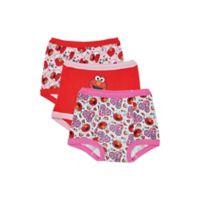 Sesame Street® Elmo Size 2T 3-Pack Training Pants