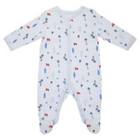 Sterling Baby Size 9M Vacation Footie in Blue