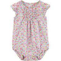 OshKosh B'gosh® Size 18M Ditzy Floral Bodysuit