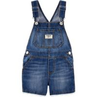 OshKosh B'gosh® Size 2T Lace Short Denim Overalls