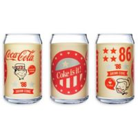 Luminarc Coca-Cola® Retro Can Glasses (Set of 4)
