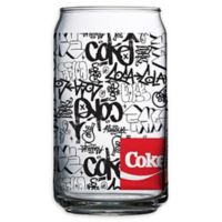 Luminarc Coca-Cola® Graffiti Can Glasses (Set of 4)