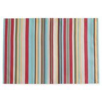 Design Imports Summer Stripe Placemats (Set of 4)