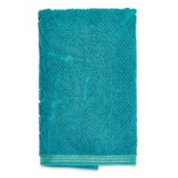 Peacock Hand Towel in Teal