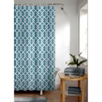 Smart Curtain Celtic Shower Curtain in Mineral