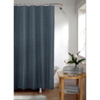 Smart Curtain Madison Shower Curtain in Indigo