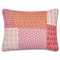 Jill Rosenwald® Patchwork Print Standard Pillow Sham