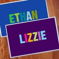 All Mine! Personalized Laminated Placemat