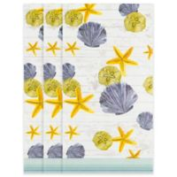 Shells and Starfish 32-Count Paper Guest Towels