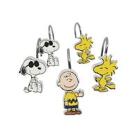 Peanuts 12-Count Shower Curtain Hooks