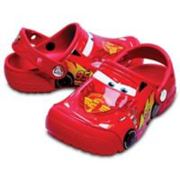 Crocs™ Fun Lab Cars Size 4 Kid's Clog in Red