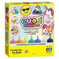 Creativity for Kids Emoji Window Art Kit
