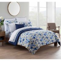 Kim Parker Leila 7-Piece Reversible King Comforter Set