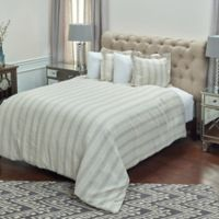 Rizzy Home Adeline Queen Duvet Cover in Ivory