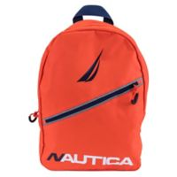 Nautica® Diagonal Zip 12-Inch Mini Backpack in Red