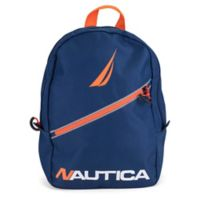 Nautica® Diagonal Zip 12-Inch Mini Backpack in Navy