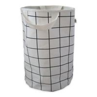 Wildfire Teepess® Grid Toy Storage Bag with Handles in Black/White