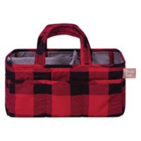 Trend Lab® Buffalo Check Storage Caddy in Red/Black