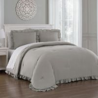 Melody 7-Piece Queen Comforter Set in Taupe