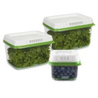 Rubbermaid® FreshWorks 3-Piece Produce Saver
