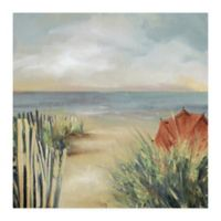 Trademark Fine Art Elizabeth Franklin New Haven 35-Inch Square Wrapped Canvas Wall Art