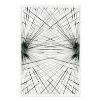 Trademark Fine Art Rays IV 22-Inch x 32-Inch Multicolor Canvas Wall Art