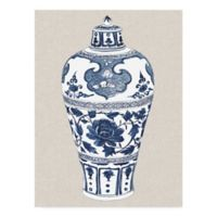Trademark Fine Art Antique Chinese Vase I 35-Inch x 47-Inch Multicolor Canvas Wall Art