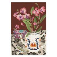 Trademark Fine Art Elegant Arrangement 2 12-Inch x 19-Inch Multicolor Canvas Wall Art