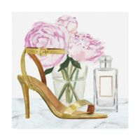 Trademark Fine Art High Heels 14-Inch x 14-Inch Canvas Wall Art