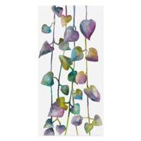 Trademark Fine Art Floral Climb 10-Inch x 19-Inch Canvas Wall Art