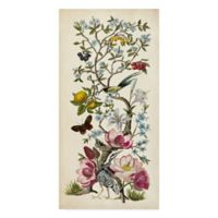 Trademark Fine Art Chinoiserie 24-Inch x 47-Inch Wrapped Canvas Wall Art