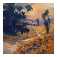 Trademark Fine Art Afternoon II 14-Inch Square Canvas Wall Art