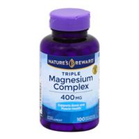 Nature's Rewards 100-Count 400 mg Triple Magnesium Complex Quick Release Capsules