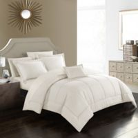 Joshuah 8-Piece Queen Comforter Set in Beige