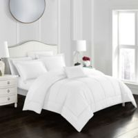 Joshuah 8-Piece King Comforter Set in White