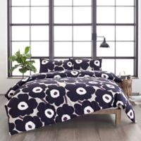 marimekko® Unikko Twin Duvet Cover Set in Pastel Grey