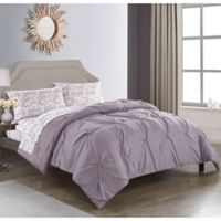 Nova 5-Piece Reversible Queen Comforter Set in Lavender