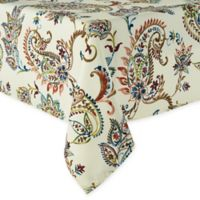 Madeira Paisley 60-Inch x 84-Inch Oblong Tablecloth